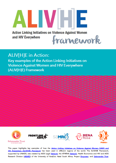 ALIV[H]E in Action case studies booklet out