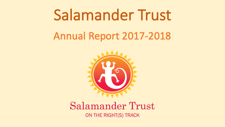 Salamander Trust Ninth Annual Report to 31 March 2018